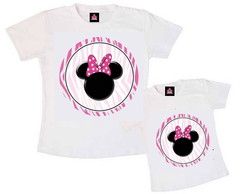 Kit Tal M�e Tal Filha Minnie Mouse