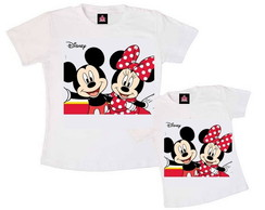 Kit Tal M�e Tal Filha Mickey e Minnie
