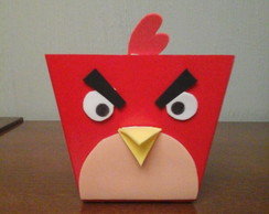 Cachepot MDF Angry Birds