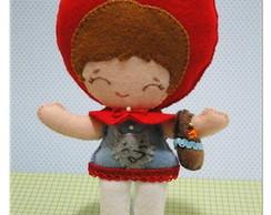 Chapeuzinho Vermelho - Boneca ou Topo de