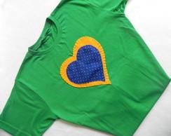 Camisa Amor ao Brasil