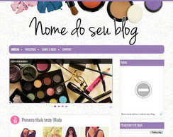 Template para blog: Maquillage