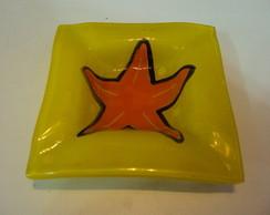 Cinzeiro P Estrela-do-Mar amarelo