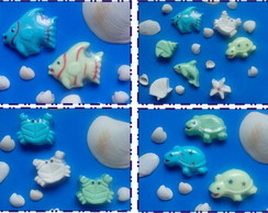 Mini Sabonetes Fundo do Mar