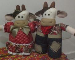 peso de porta casal vaca e boi