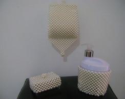 Conjunto para banheiro em p�rolas