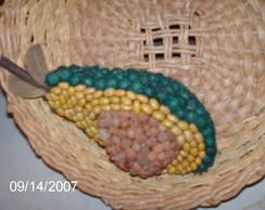 Abacate de coquinho a�a� e feij�es