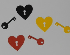 cadeado e chave