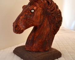 Busto Cavalo - pronta entrega