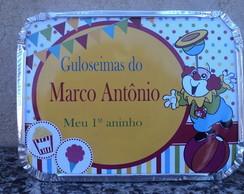 Marmitinha Personalizada Circo 500G