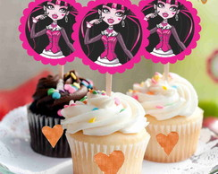 Toppers Monster High Pink