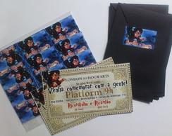 Convites Anivers�rio Harry Potter Ticket