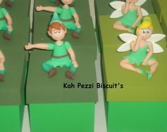 Lembrancinha Peter Pan e Sininho biscuit