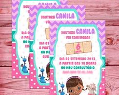 Convite Doutora Brinquedo