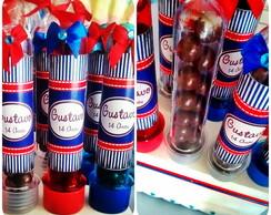 Tubete Personalizado com Chocolate