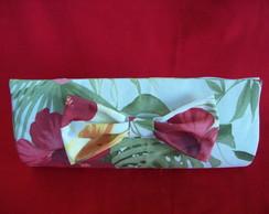 Bolsa Clutch  Estampa Floral