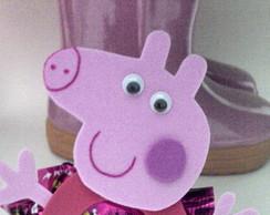 Porta Bombom em E.v.a Peppa Pig