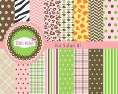 Kit Papel Digital Safari III