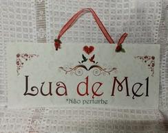 Placa Lua de Mel 1