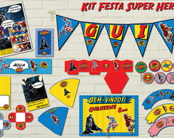 Super Her�is Kit Festa SUPER Digital 12