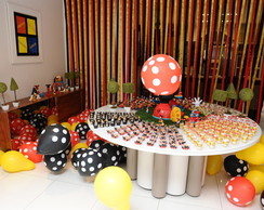 Decora��o Casa do Mickey
