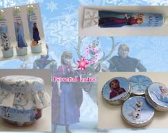 kit festa personalizado frozen