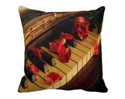 Capa De Almofada 40x40 - Piano Mc016