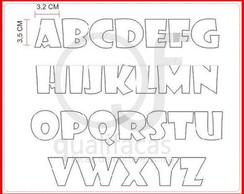 Facas de Corte Alfabeto 3