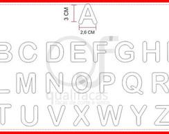 Faca de corte Alfabeto 4