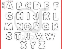 Faca de corte Alfabeto 5