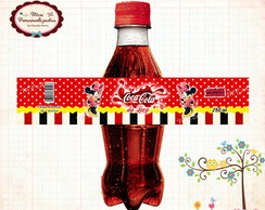 R�tulo coca cola Minnie