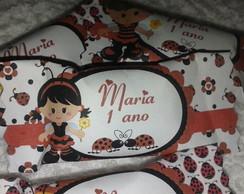 Cento Balas personalizadas joaninha