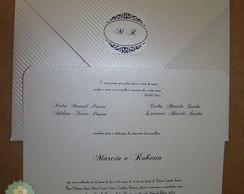 Convite  Casamento C03