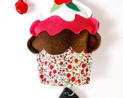 Cupcake Porta Chaves Dupla Face LUXO