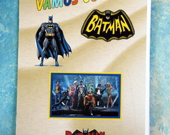 Revista Batman com giz de cera