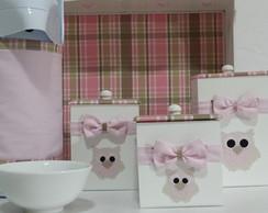 Kit Higiene Aplique Coruja