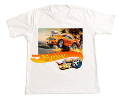 Camiseta carros hot wheels