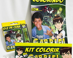 Revista Kit Colorir Ben10