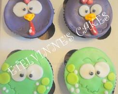 Cupcake da Galinha Pintadinha