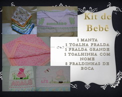 Kit de beb� com 12 pe�as