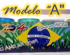 "Caneca brasil  -  MODELO   ""A"""