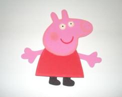 Aplique paraLembrancinhas Peppa Pig EVA