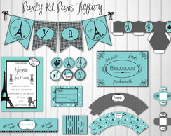 Paris Tiffany Party Kit Tr�s CHIC
