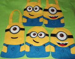 Sacola Minions kit com 20 pe�as