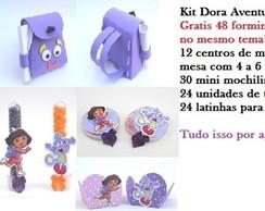 kit 138 unidades Dora Aventureira