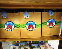 Sacola Kraft Angry Birds