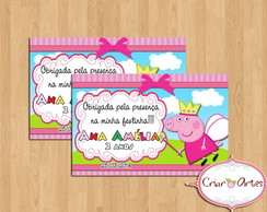 Tag Peppa Pig Princesa