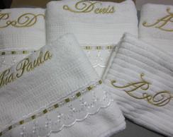 Toalhas Banho Personalizada 5 p�