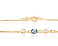 Pulseira Even - Ouro, top�zio, diamantes