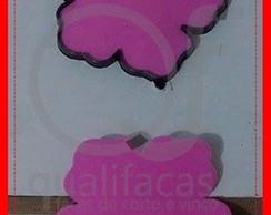 Faca de corte Flor 5 p�talas (8cm)